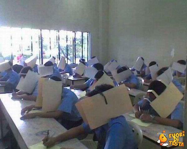 Come non copiare agli esami