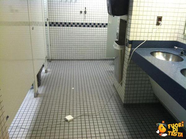 Comodità nei bagni pubblici