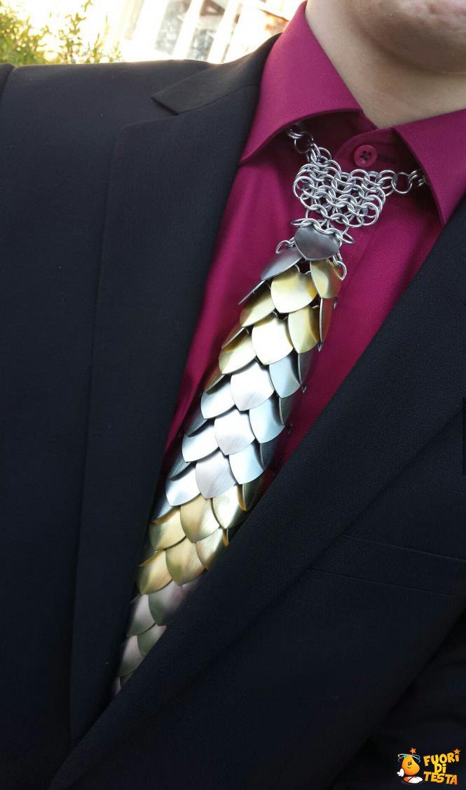 Cravatta di alluminio