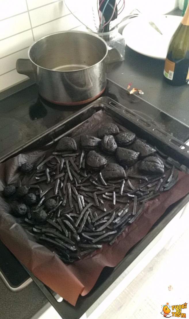 Cucinare non è il mio forte