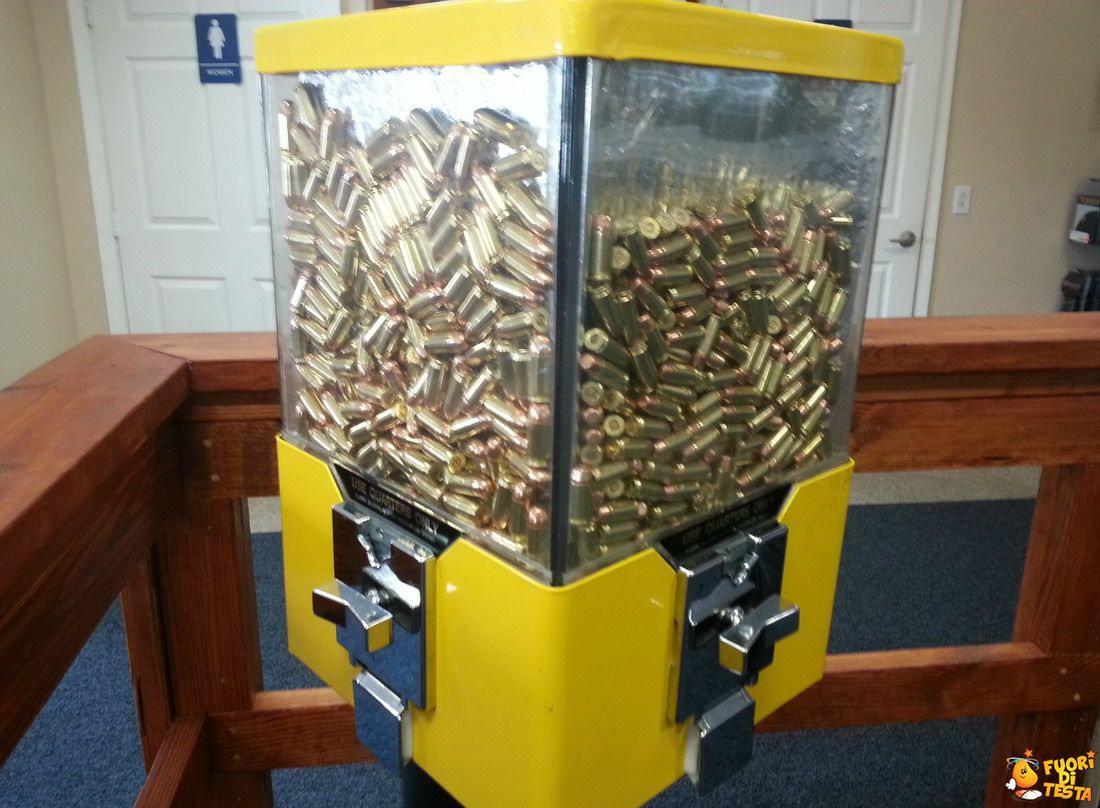 Distributore di munizioni