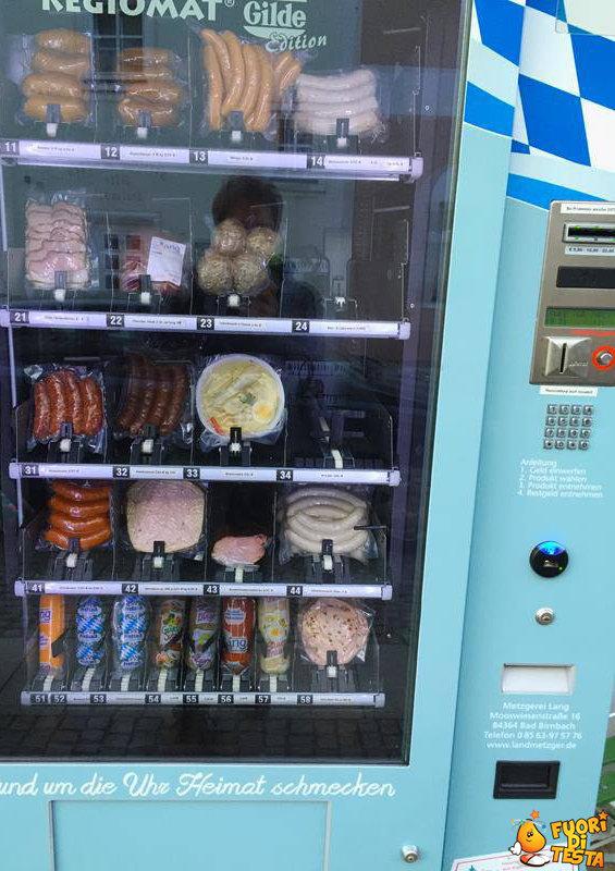 Distributore di salsicce