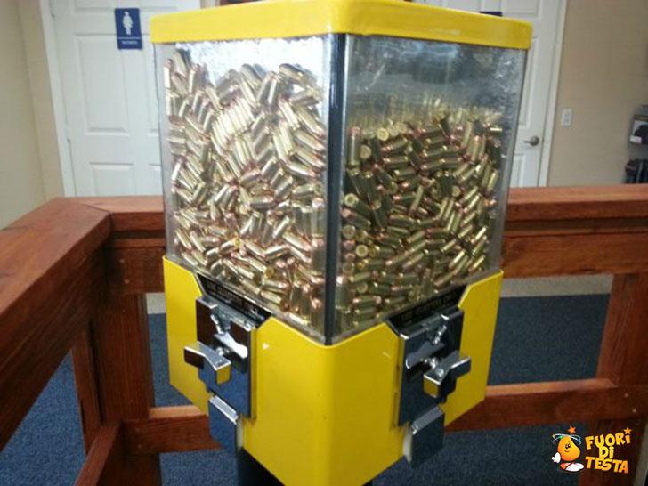 Distributori di proiettili negli USA