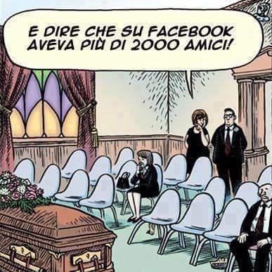 Dove sono gli amici di Facebook?