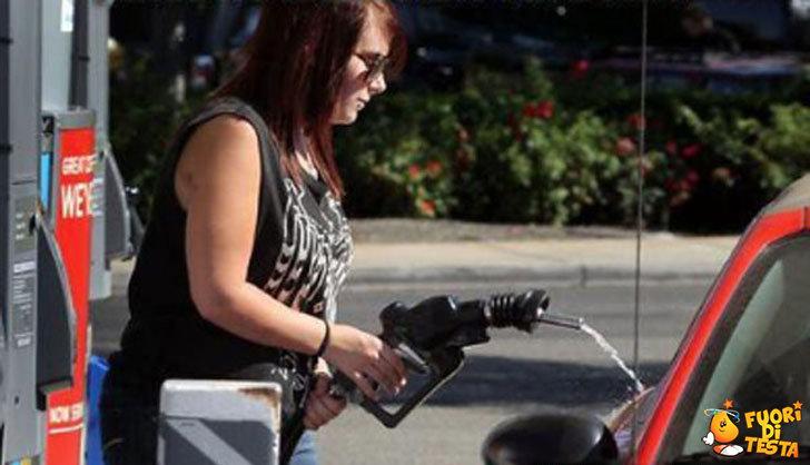 Fare benzina in sicurezza