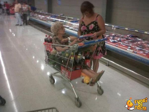 Fare la spesa con la nonna