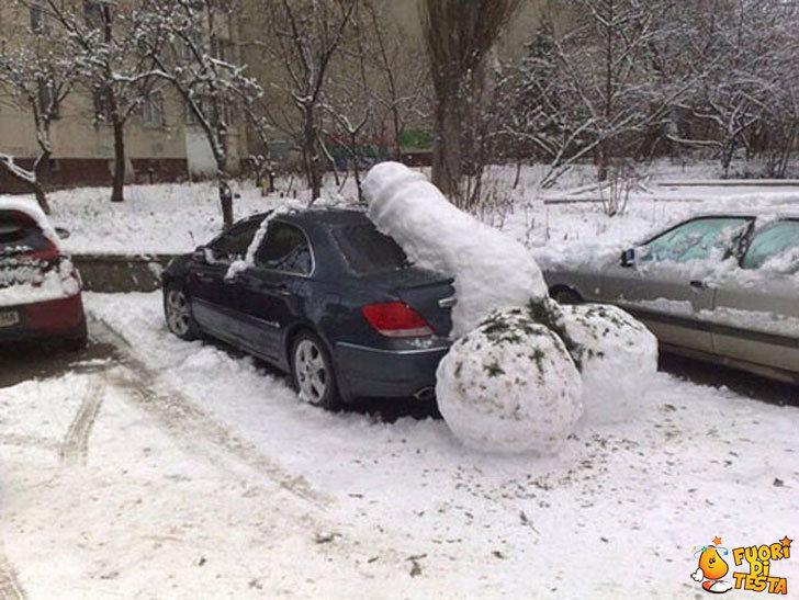 Finalmente si gioca con la neve