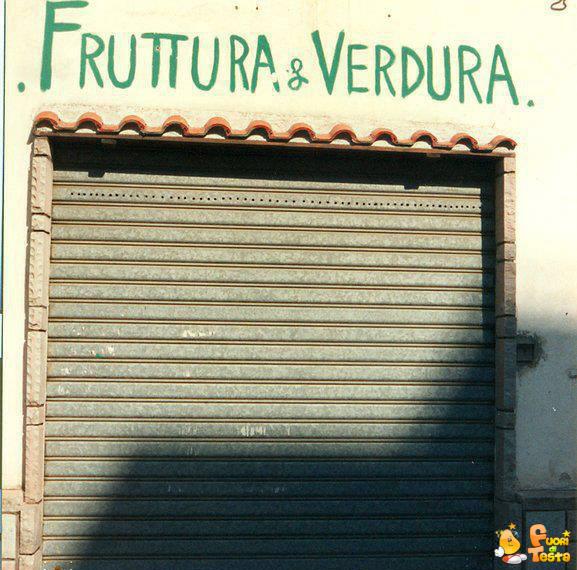 Fruttura e verdura
