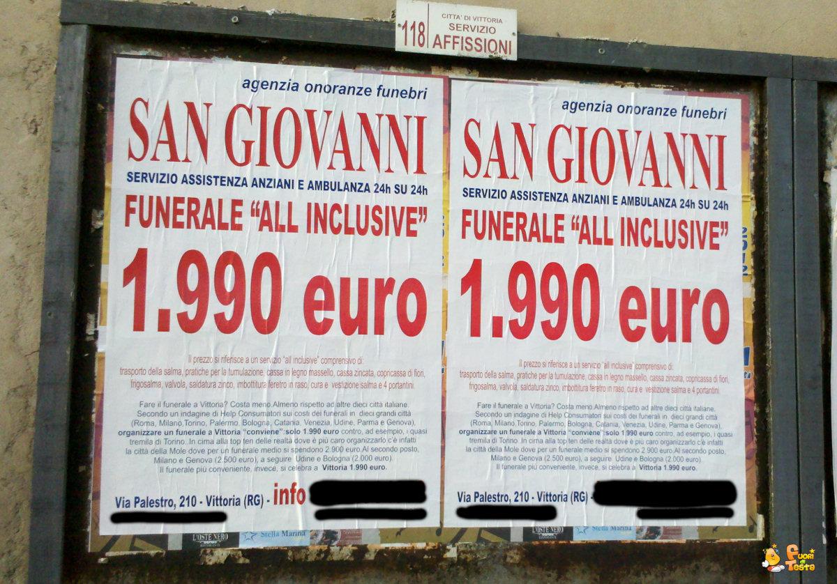 Funerale low cost
