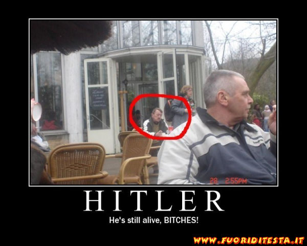 Hitler è vivo?