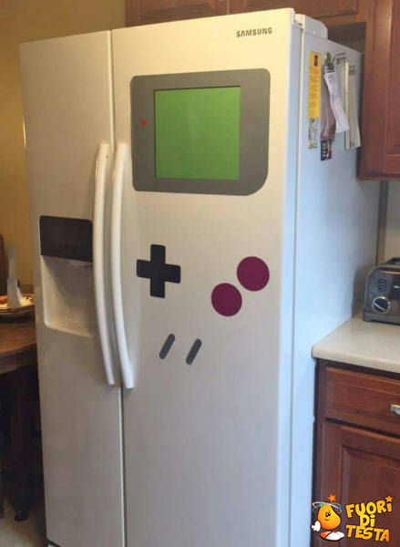 Il frigo Game Boy