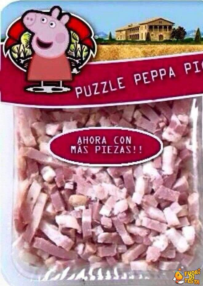 Il puzzle di Peppa Pig