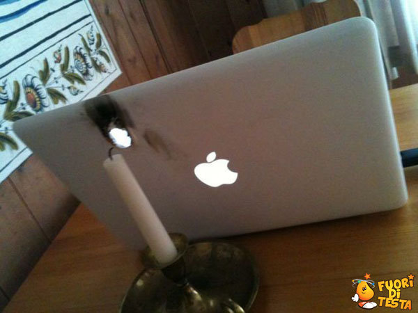 Incidenti con un MacBook