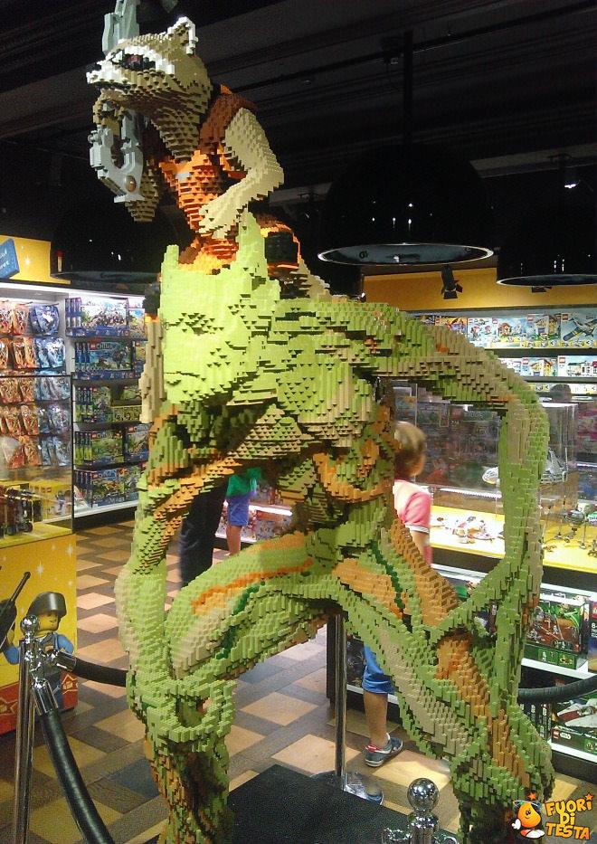 Incredibile scultura coi lego