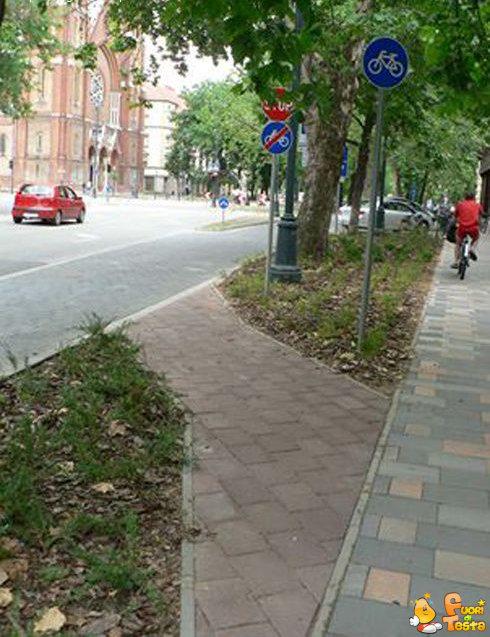 La più corta pista ciclabile al mondo