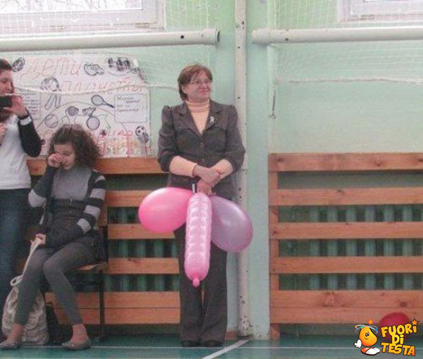 La prof e i palloncini