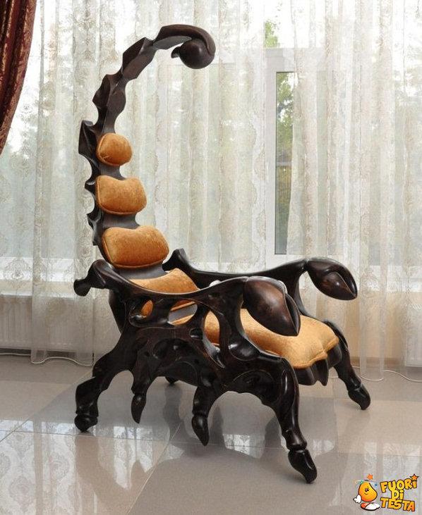 La sedia scorpione