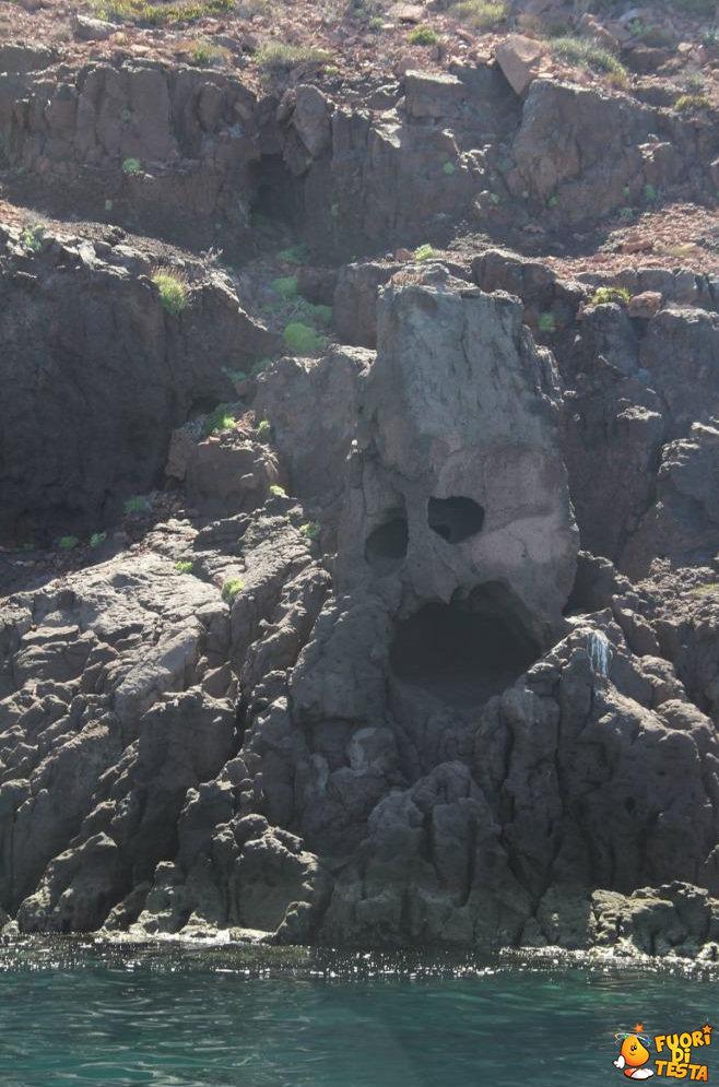 La sofferenza di una roccia