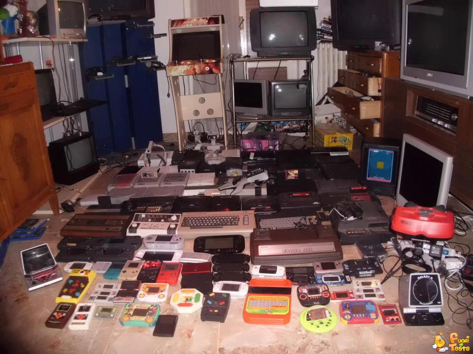 La stanza di un nerd