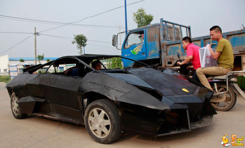 Lamborghini fatta a mano