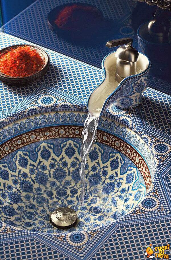 Lavandino in Marocco