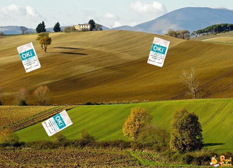 Le colline hanno gli Oki