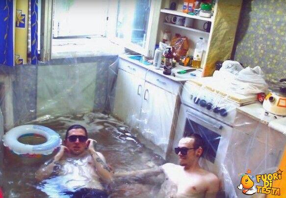 Niente piscina? Fa niente!