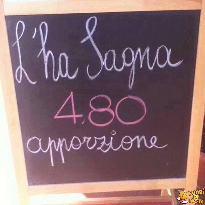 Oggi si pranza qui!