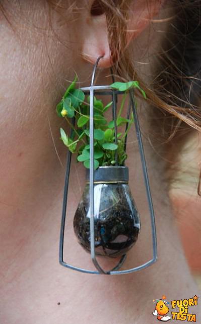 Orecchini con bonsai