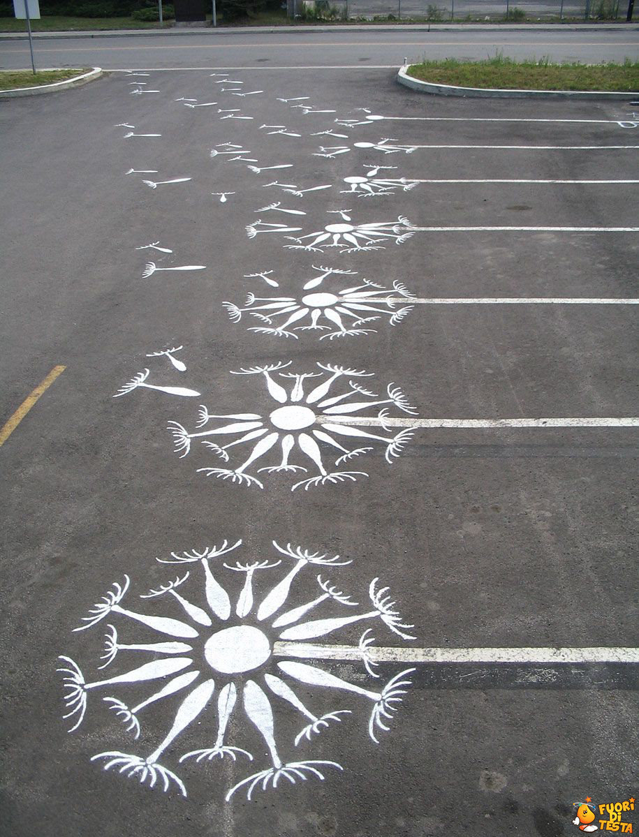 Parcheggi creativi