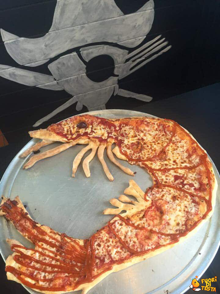 Pizza insolita