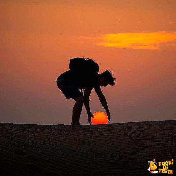 Prendere un tramonto