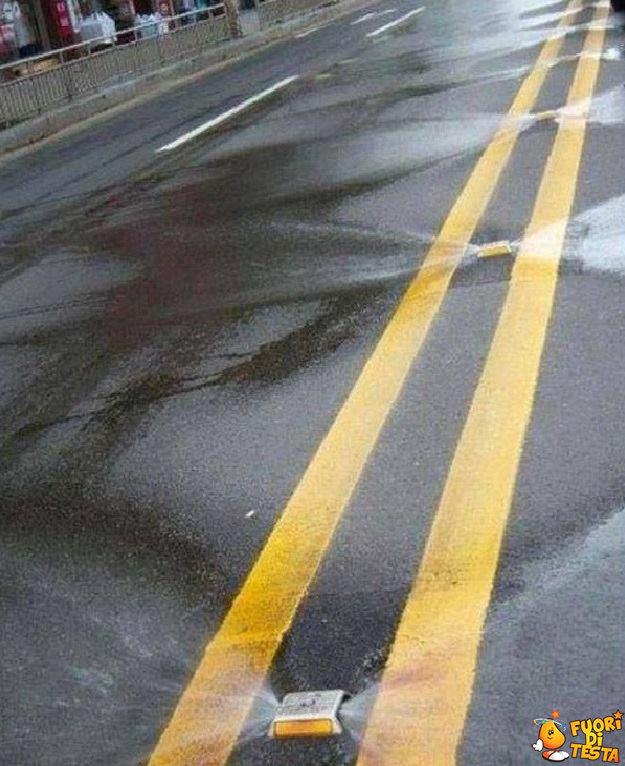Pulizia delle strade in Korea