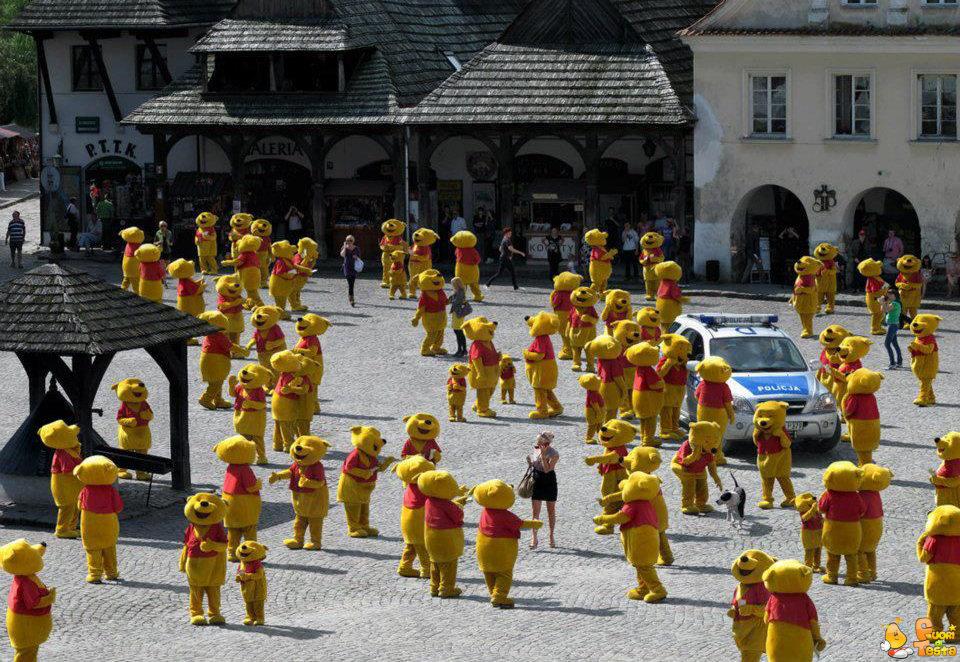 Raduno dei Winnie the Pooh