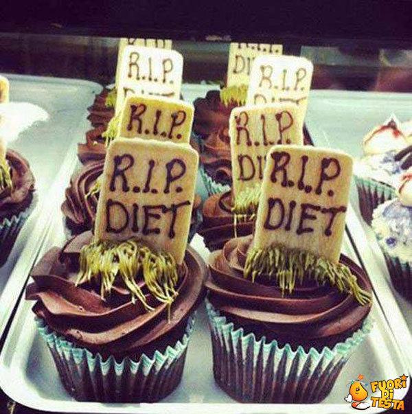 Riposa in pace dieta