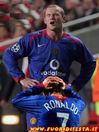 Rooney e Ronaldo