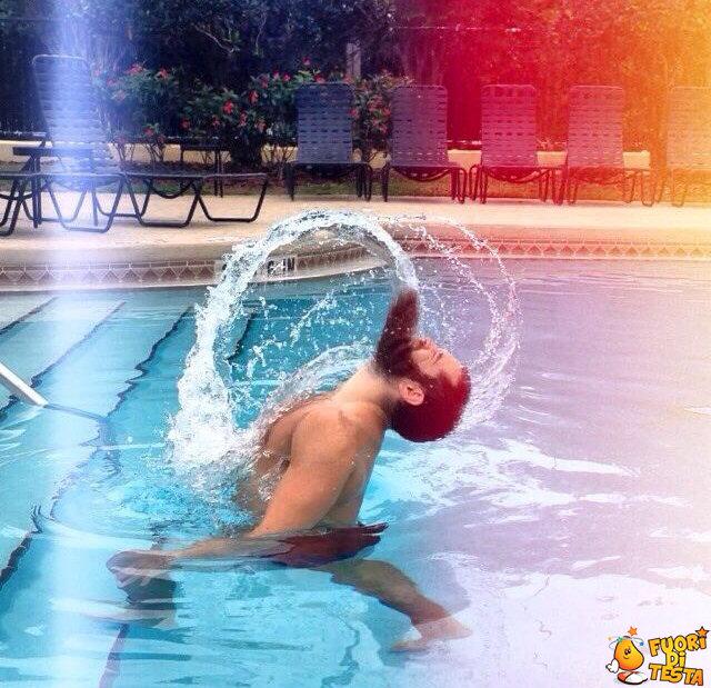 Sensualità in piscina