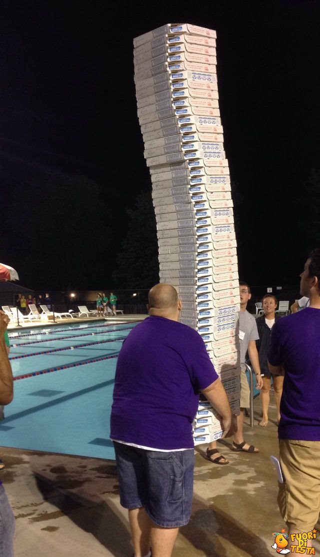 Sono arrivate le pizze!