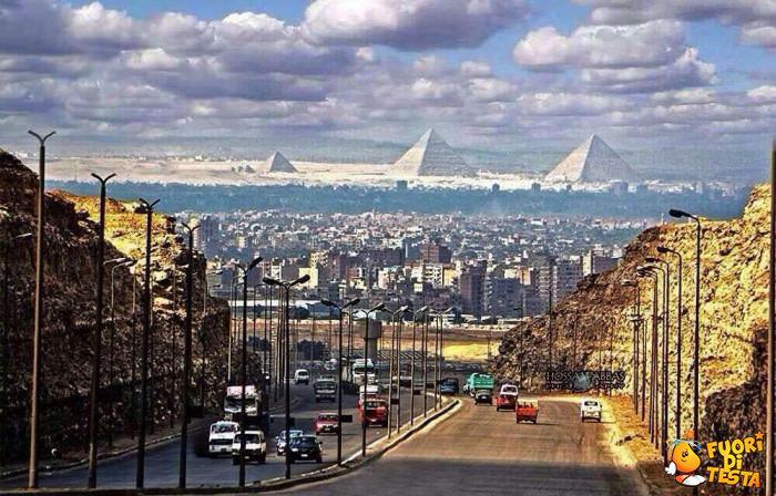 Splendido panorama in Egitto