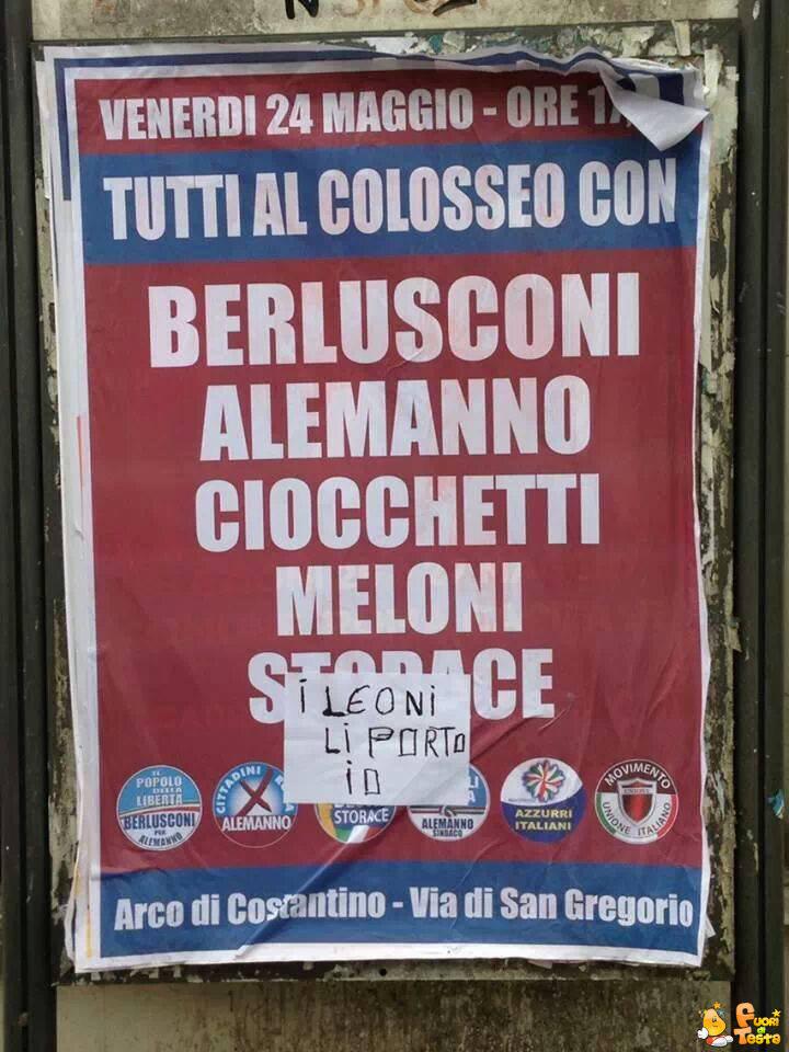 Tutti al Colosseo!