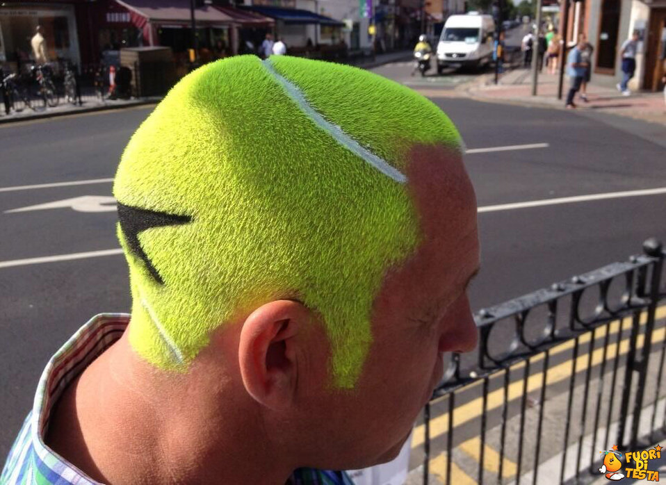 Un appassionato tennista
