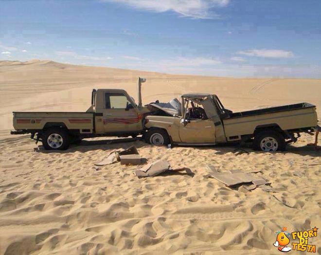 Un incidente nel deserto