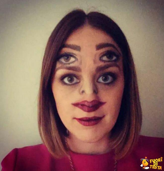 Un make-up confusionario