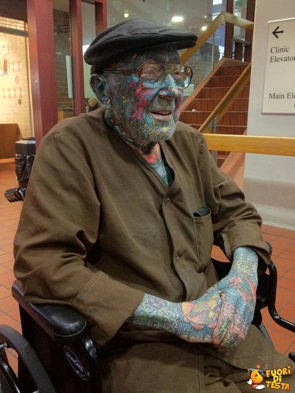 Un vecchietto punk