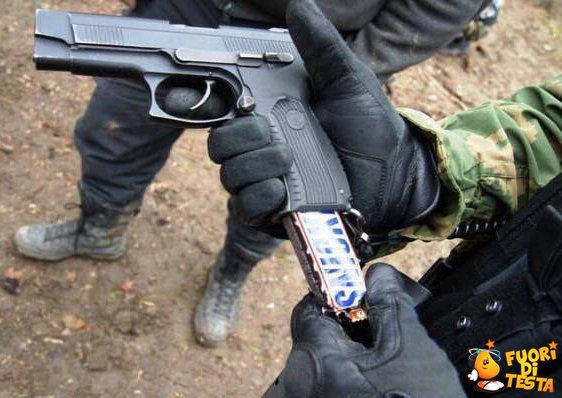Una pistola che non ferisce