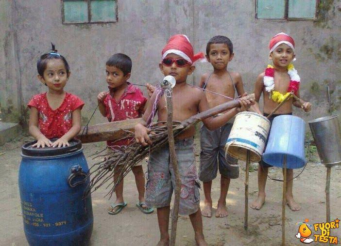 Una strana band musicale
