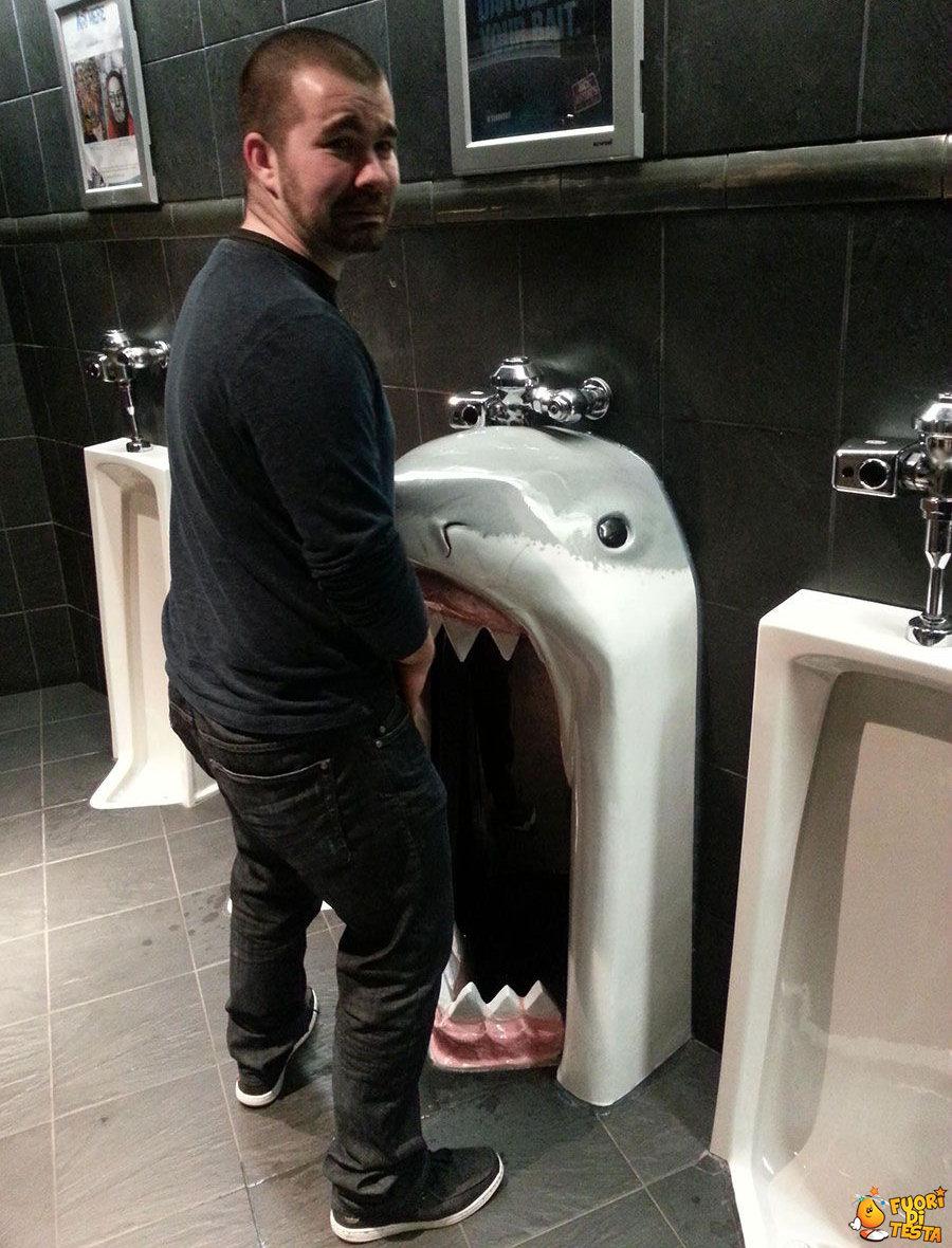 Una toilette inquietante