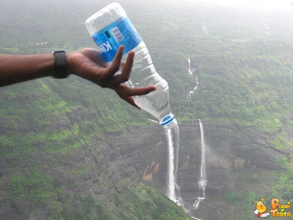 Versare la cascata