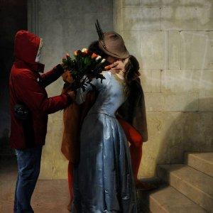 Amico, vuoi una rosa?