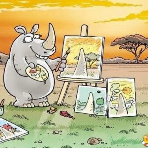 Artista rinoceronte